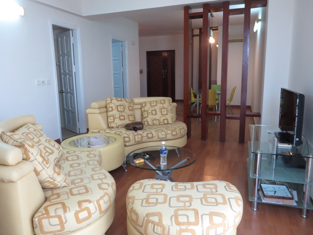 3 bedroom apartment with nice view for lease in G2 Block Ciputra, Hanoi.