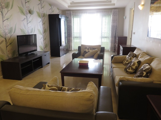 3 nice bedroom  apartment for rent in Ciputra, Ha Noi.