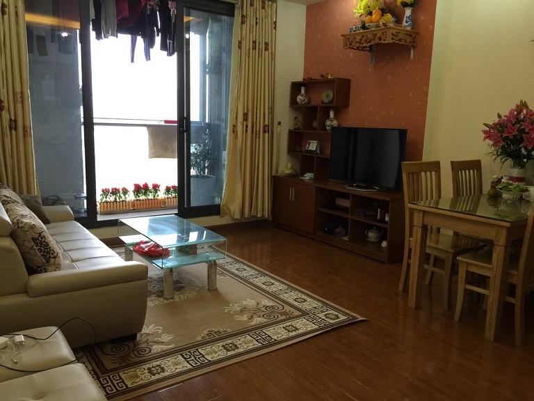 Apartment for rent in TSQ EuroLand for European oversea Vietnamese, Ha Dong Dist