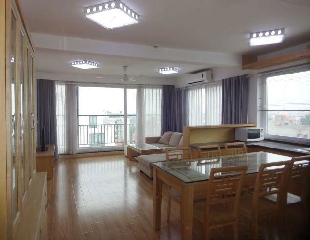 Bright apartment with 2 bedroom for lease in To Ngoc Van, Tay Ho, Hano