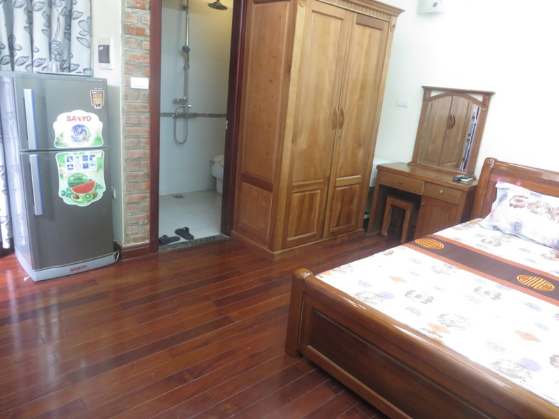 Cheap serviced apartment for rent in Xa Dan street