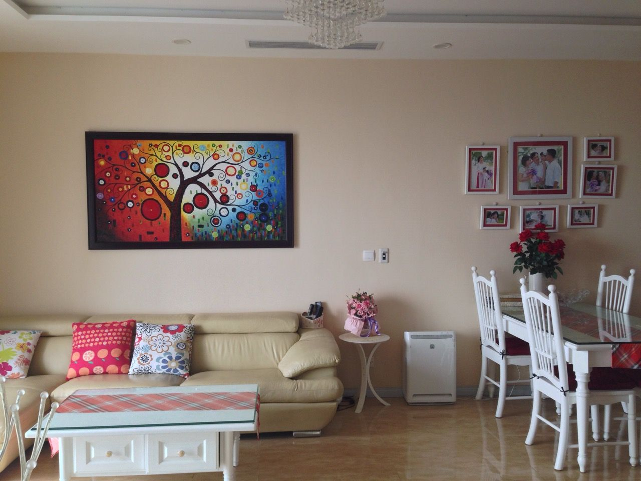 Furnished 3 bedrooms apartment for rent in T1 Vinhomes Times city, Minh Khai street.