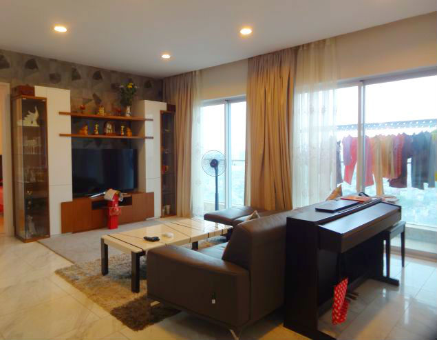 Gorgeous apartments with 3 bedrooms for rent in W Tower, Golden Westlake, Hanoi