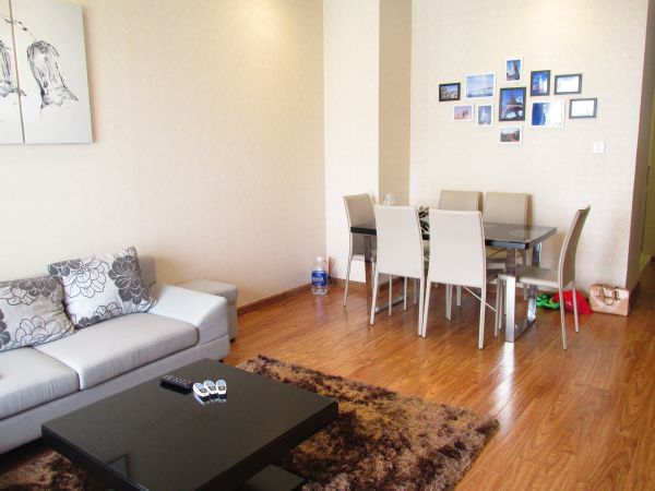 High floor with nice view 2 bedroom apartment in Times City, Minh Khai street, Hai Ba Trung dist., Hanoi.