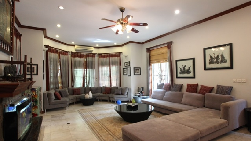 Large and beautiful house rental in To Ngoc Van streets, Tay Ho dist, Hanoi.