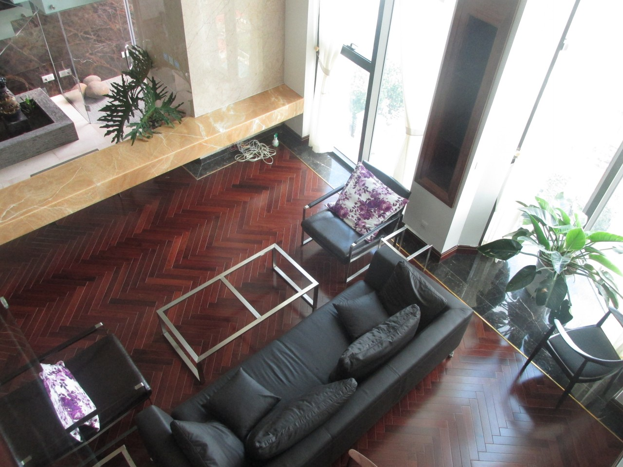Luxury duplex apartment for rent in Hoang Thanh Tower, Hai Ba Trung district, Hanoi