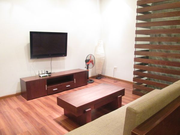 Luxury serviced apartment with modern interior, 1 bedroom for rent in Mai Hac De street, Hai Ba Trung district, Hanoi.