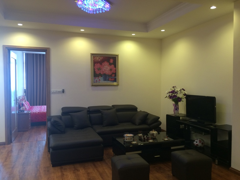 Modern 2 bedroom apartment rental in Eurowindow Multicomplex, Tran Duy Hung, Cau Giay