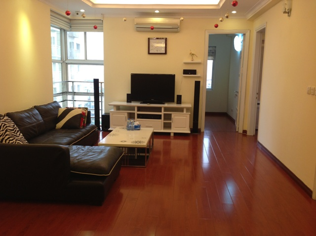 Nice decorated apartment for rent in G3 Ciputra, Hanoi.