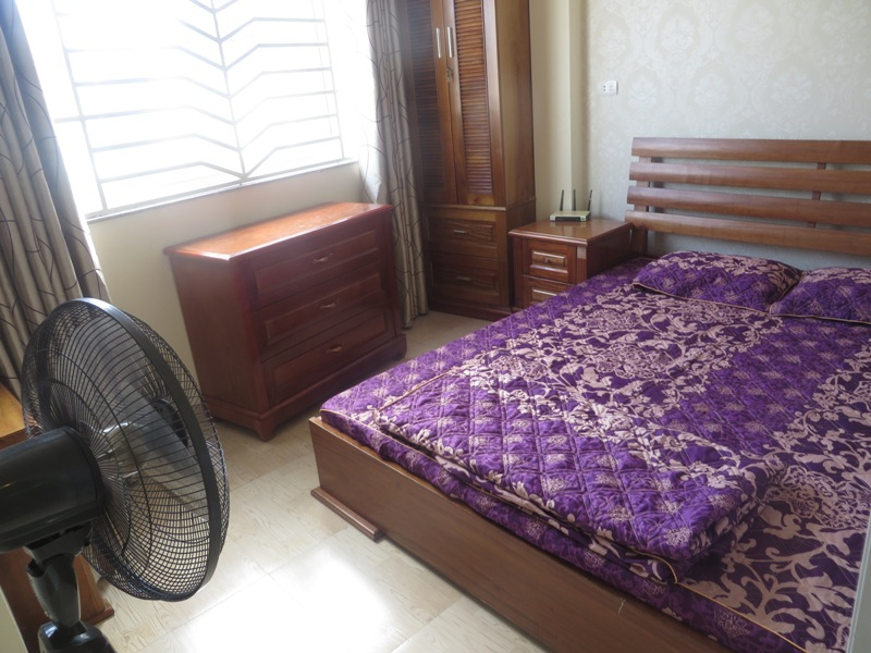 Serviced apartment for rent with 01 bedroom in Kham Thien street