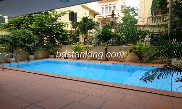 This is nice villa in Westlake of Hanoi.