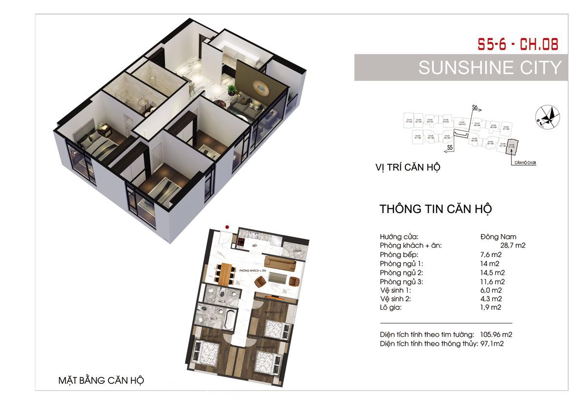 Dự án Sunshine City 7