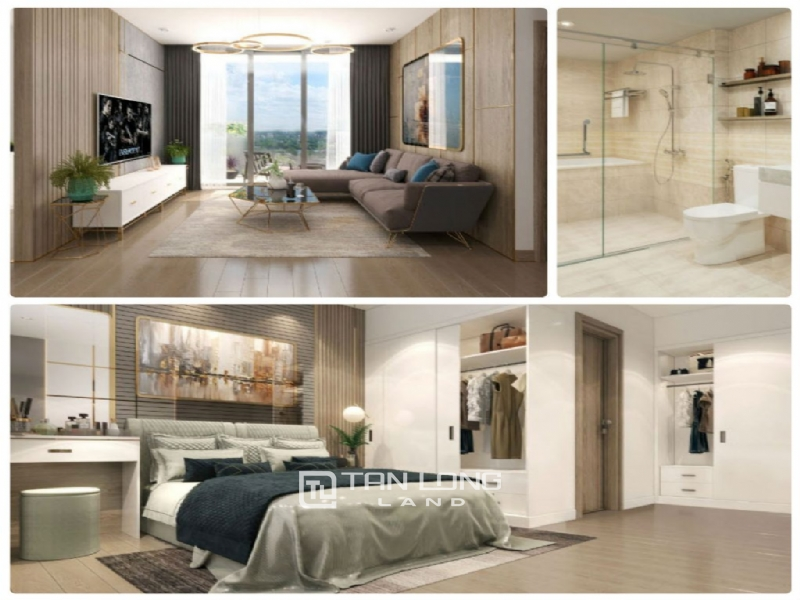 03 bedrooms apartment for rent in Vinhomes Gallery. 120sqr 1