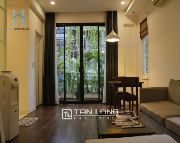 1 bedroom apartment for rent on Nguyen Chi Thanh street 1