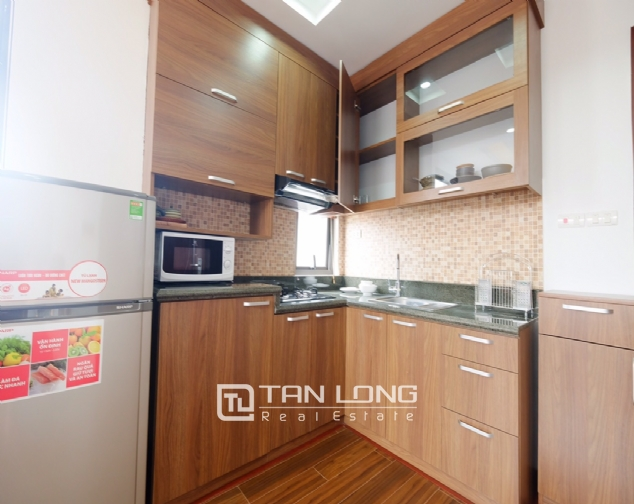 1 bedroom serviced apartment for rent on Dao Tan street 4