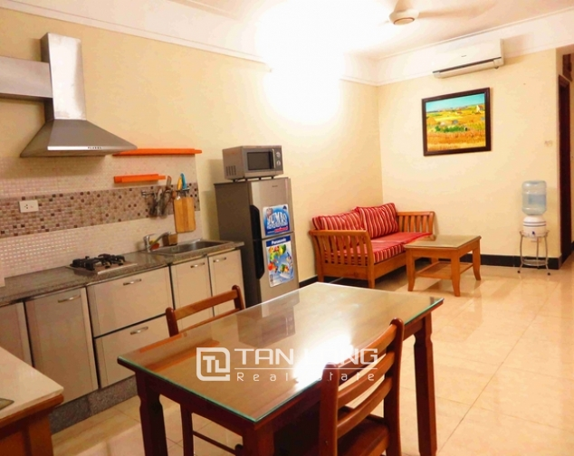 1 bedroom serviced apartment for rent on Hoang Hoa Tham str., Ba Dinh distr., Hanoi 1