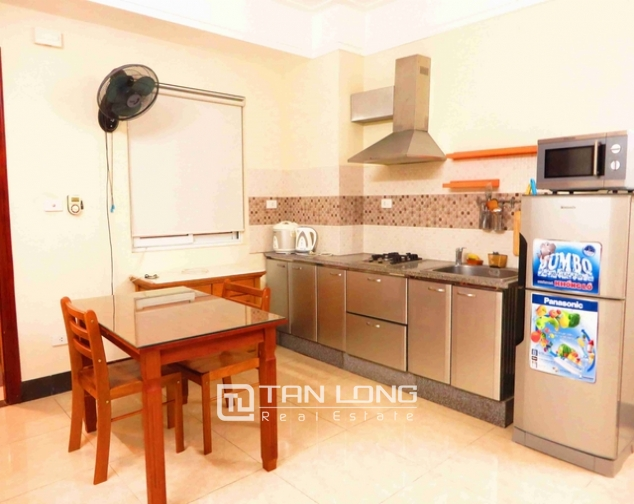 1 bedroom serviced apartment for rent on Hoang Hoa Tham str., Ba Dinh distr., Hanoi 3