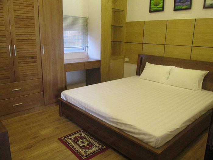 1 bedroom serviced apartment rental in Lang Ha, cozy space, nice furniture