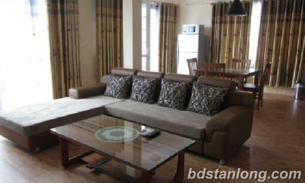 1 bedrooms serviced apartment in Nghi Tam Village for rent.
