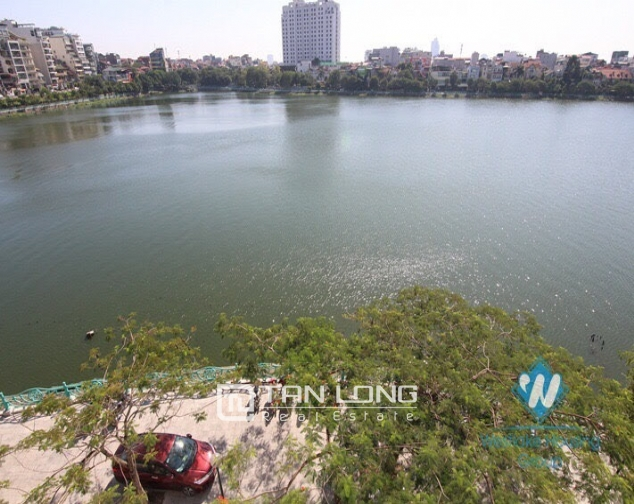 2 bedroom apartment for rent on Quang An street, Tay Ho facing West Lake 1