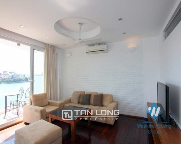 2 bedroom apartment for rent on Quang An street, Tay Ho facing West Lake 4