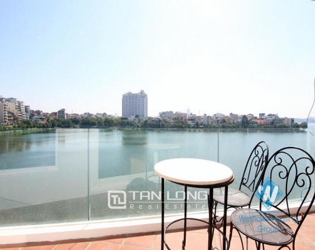 2 bedroom apartment for rent on Quang An street, Tay Ho facing West Lake 8