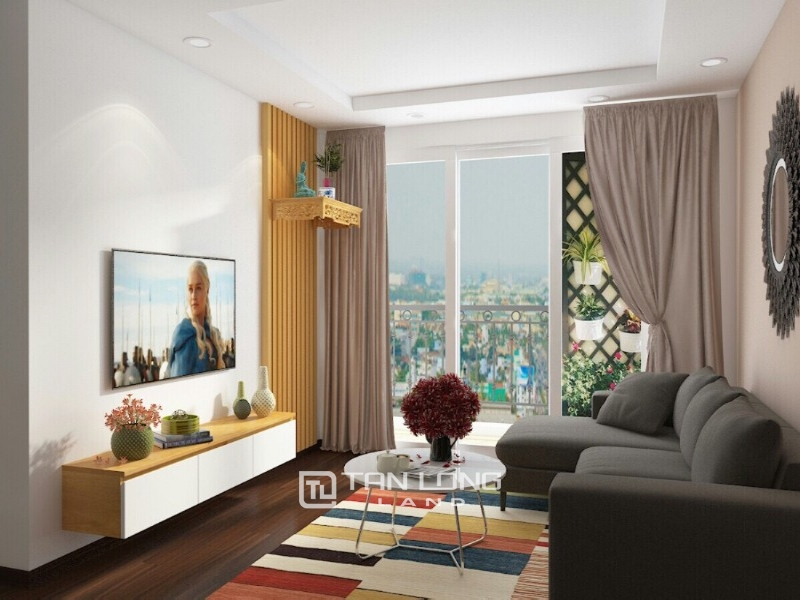 3 bedroom apartment for rent in Starlake urban area, Tay Ho Tay! 1