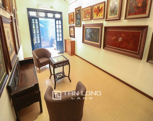 3 bedroom house for rent on Doi Can street, Ba Dinh 1