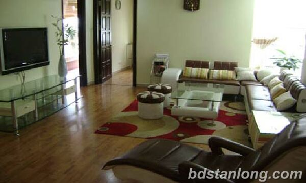 3 bedrooms apartment in G2 Ciputra, Tay Ho for rent.
