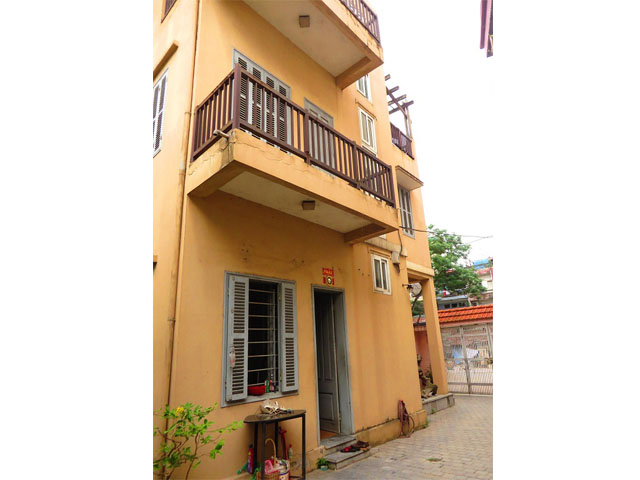 3 storey house in Buoi street, Ba Dinh district for sale, nice garden