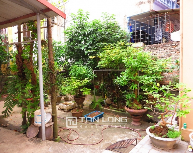 3 storey house in Buoi street, Ba Dinh district for sale, nice garden 2