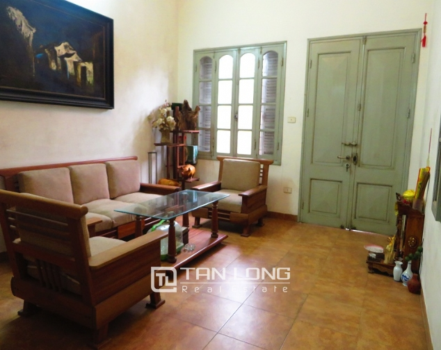 3 storey house in Buoi street, Ba Dinh district for sale, nice garden 5
