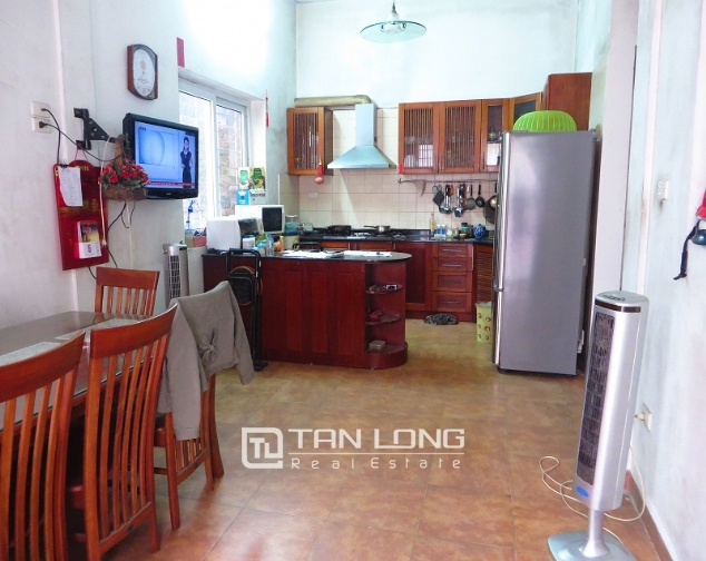 3 storey house in Buoi street, Ba Dinh district for sale, nice garden 6