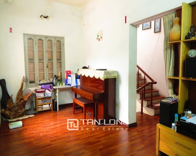 3 storey house in Buoi street, Ba Dinh district for sale, nice garden 8