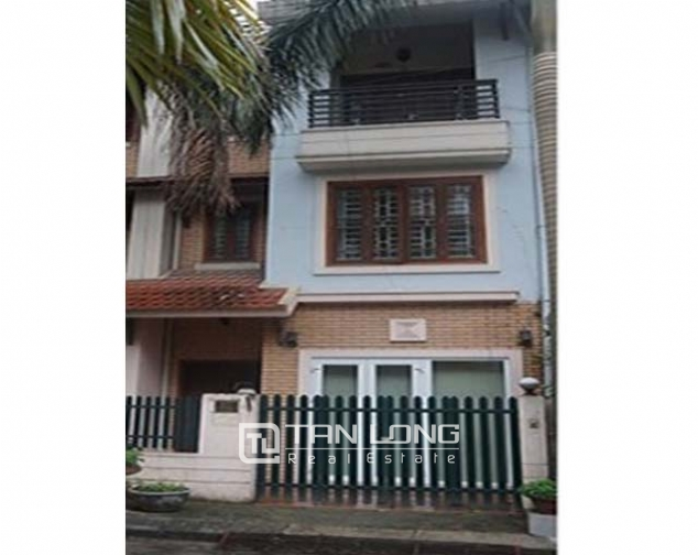 3.5 storey house for rent in Hoang Hoa Tham, Ba Dinh district, available garage 4
