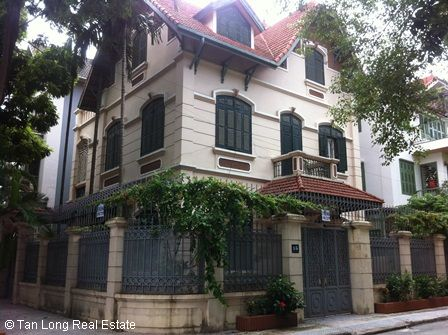 3.5 storey villa for rent in Dinh Cong, Hoang Mai dist, Hanoi 1
