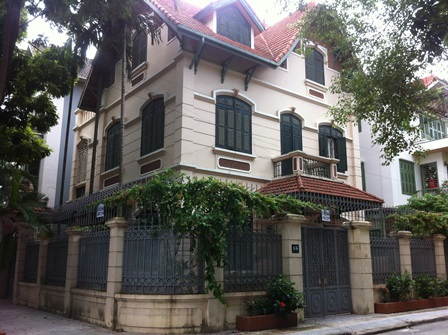 3.5 storey villa for rent in Dinh Cong, Hoang Mai dist, Hanoi