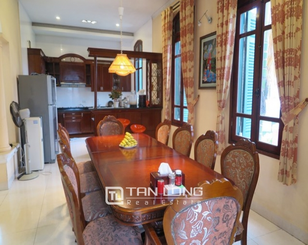 3-storey villa with swimming pool for lease in Nguyen Khoai road, Hai Ba Trung dist, Hanoi 4