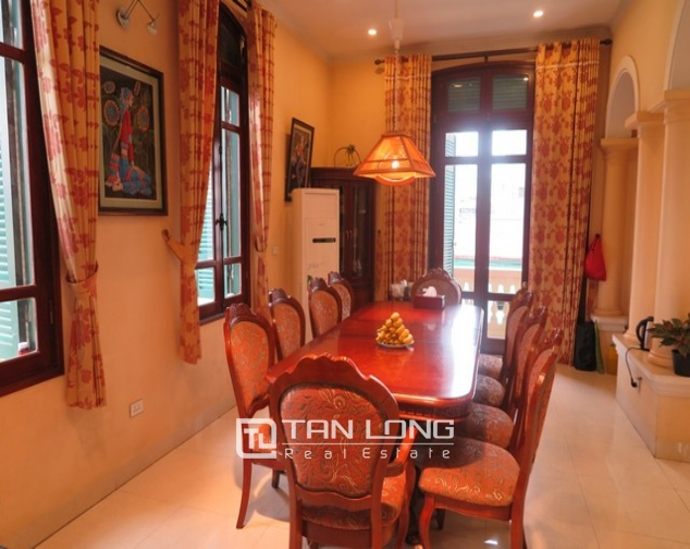 3-storey villa with swimming pool for lease in Nguyen Khoai road, Hai Ba Trung dist, Hanoi 5