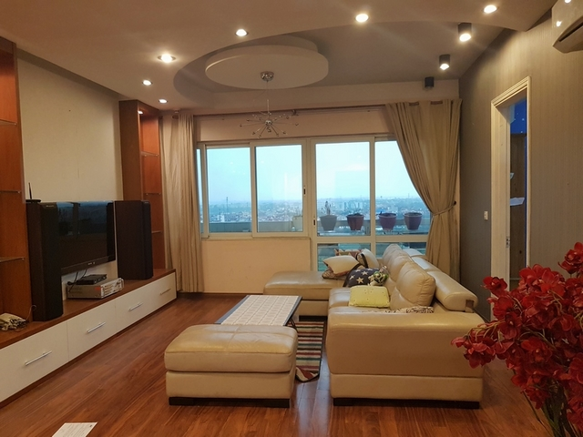 4 bedroom apartment for rent at Ciputra, Tay Ho distr, Hanoi