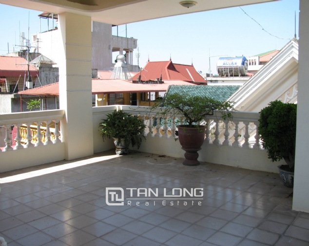 4 bedroom house for rent on Lane 376, Buoi street, Ba Dinh 7