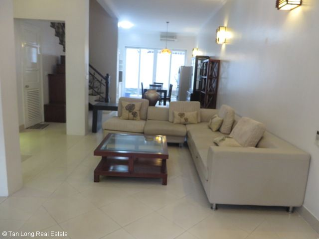 4 bedroom villa for lease in C4 Ciputra, fully furnished, capacious, new exposure 2