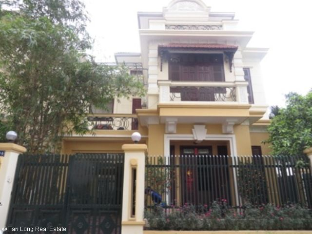 4 bedroom villa for rent in G1 Ciputra, Tay Ho district, spacious and bright 1