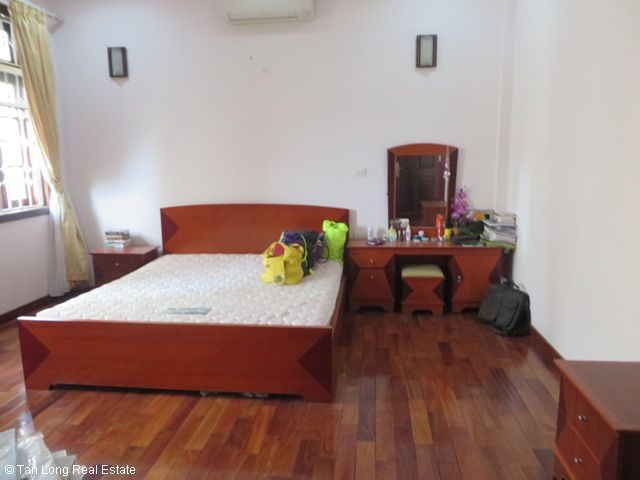 4 bedroom villa for rent in G1 Ciputra, Tay Ho district, spacious and bright 10