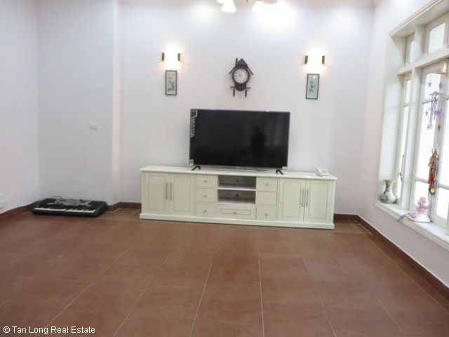 4 bedroom villa for rent in G1 Ciputra, Tay Ho district, spacious and bright 2