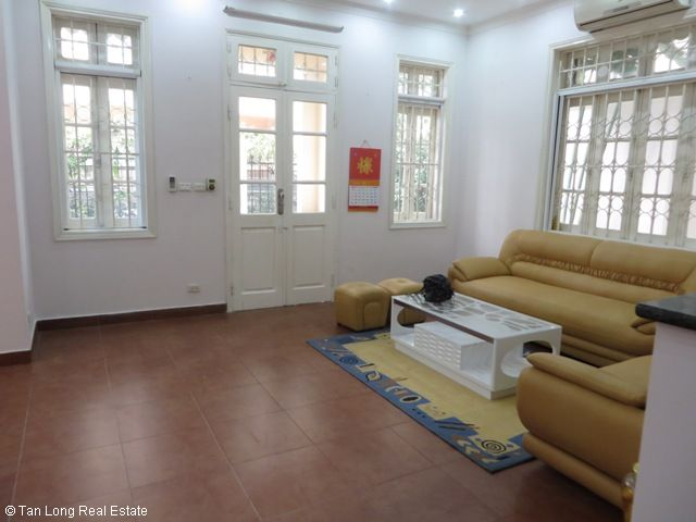 4 bedroom villa for rent in G1 Ciputra, Tay Ho district, spacious and bright 3