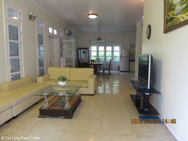 4 bedroom villa for rent in T5 Ciputra, fully furnished and bright 1