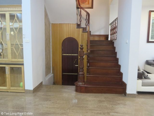 4 bedroom villa with garage for rent in D2 Ciputra, Tay Ho dist, Hanoi 2