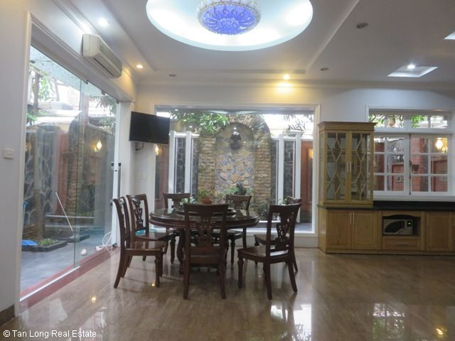 4 bedroom villa with garage for rent in D2 Ciputra, Tay Ho dist, Hanoi 7