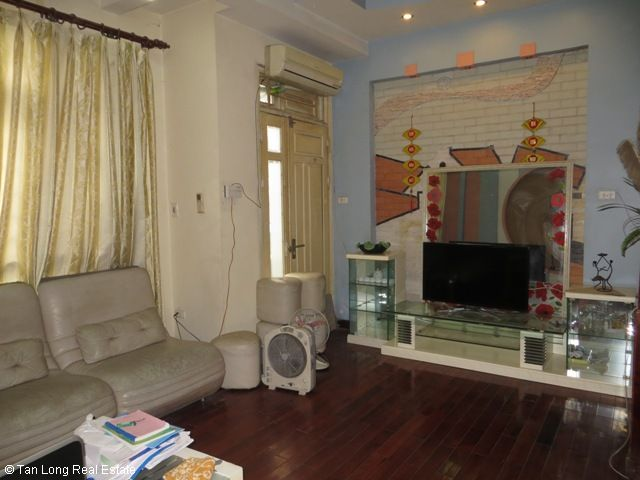 4 fully furnished house to rent on Tran Duy Hung street, Trung Hoa Nhan Chinh area, Cau Giay district 5